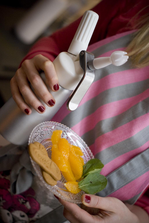 Courses - Salade tiède d'oranges - Les petits plats de Mélina