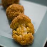 Croquettes de risotto safrané