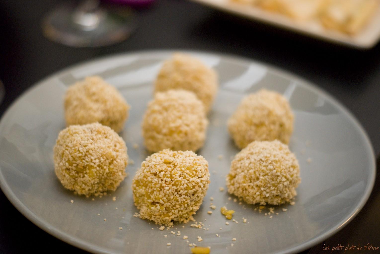 Croquettes de risotto