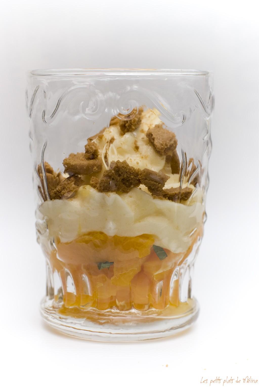 Salade d'oranges tiède espuma d'agrumes - Les petits plats de Mélina