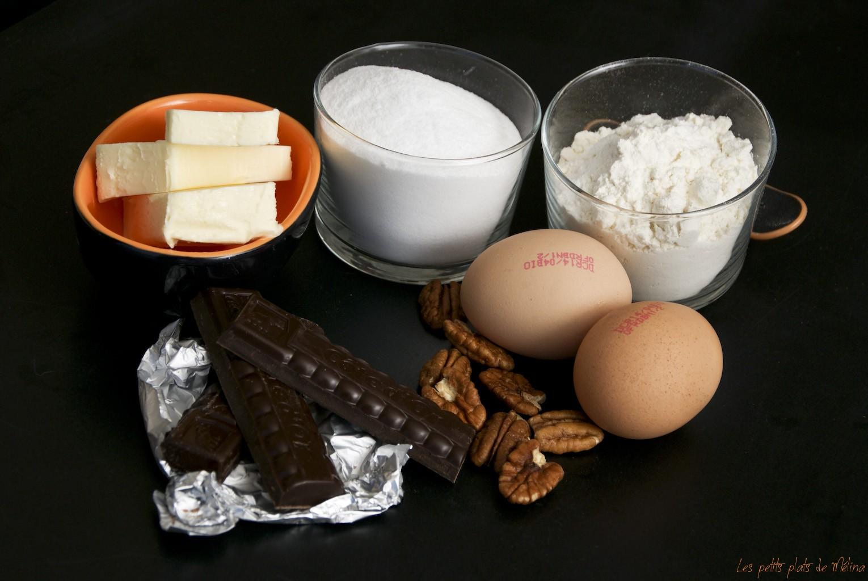 Courses - Brownie pécan caramélisées - Les petits plats de Mélina