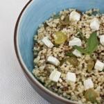 Quinoa raisin chève pécan - Les petits plats de Mélina