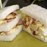 Sandwich oeuf bacon poulet - Les petits plats de Mélina