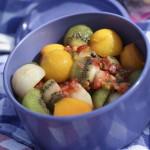 Salade de fruits en billes - Les petits plats de Mélina