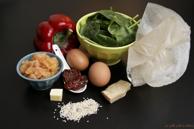 Courses - Pousses d'épinard oeuf mollet - Les petits plats de Mélina