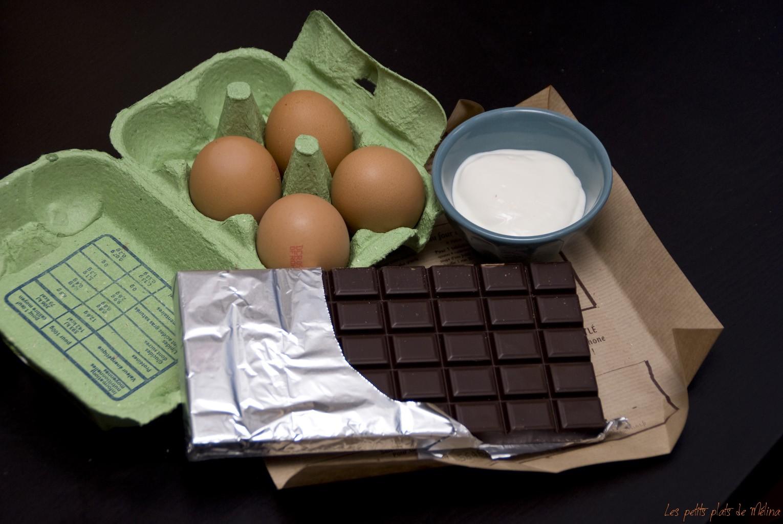 Courses - Mousse Choco - Les petits plats de Mélina
