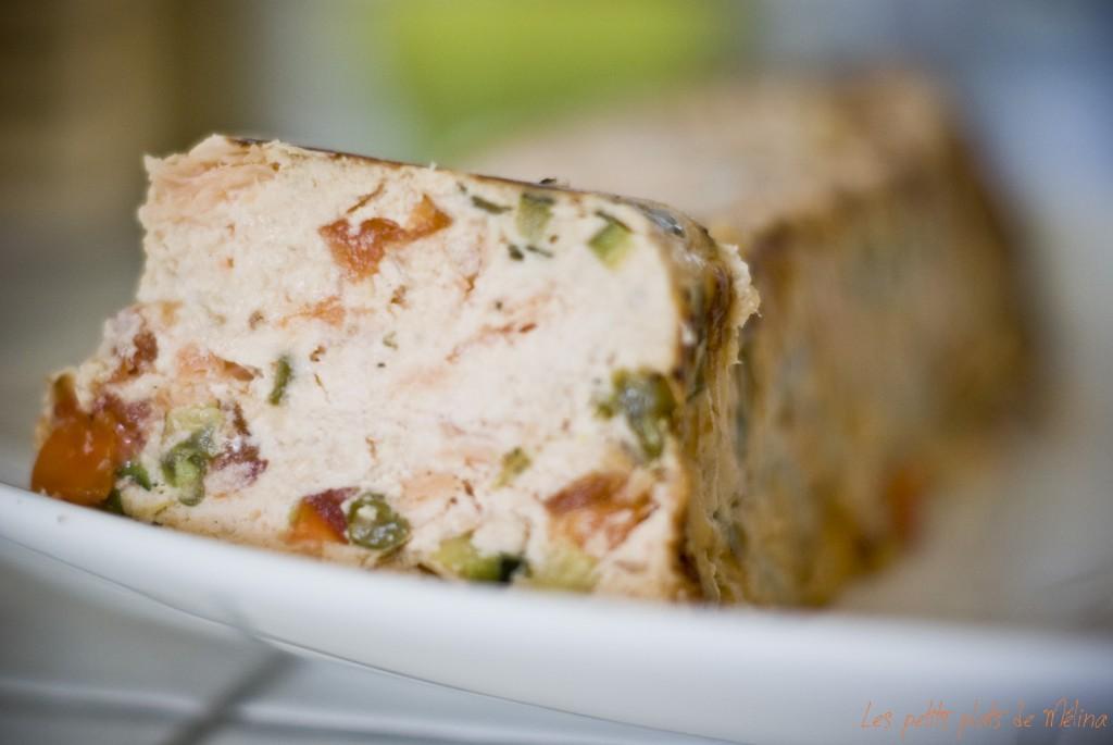 Terrine saumon légumes