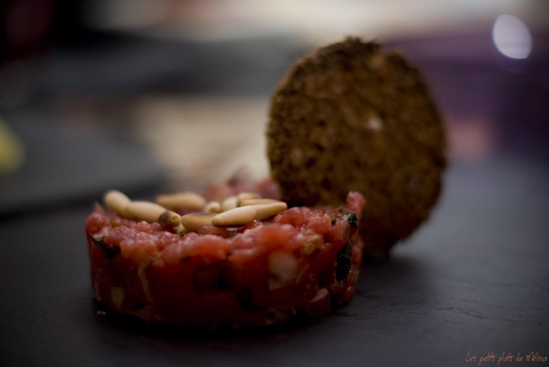 Tartare version provence - Les petits plats de Mélina