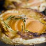 Tartelette crème d'amande et abricots