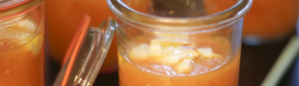 Gaspacho Melon Chorizo Chèvre frais