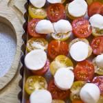 Tatin de tomates cersines - Les Petits Plats de Mélina