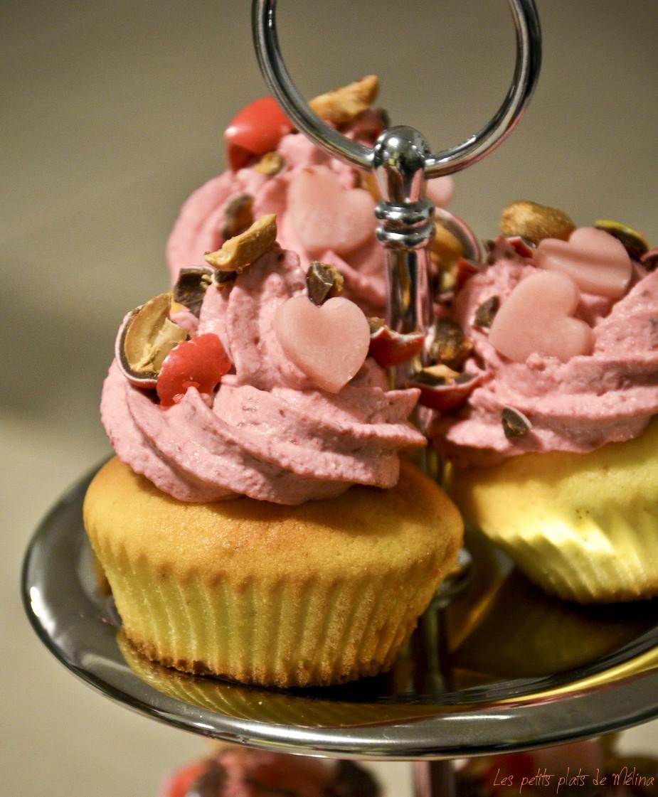 Cupcakes Framboises - Les Petits Plats de Melina
