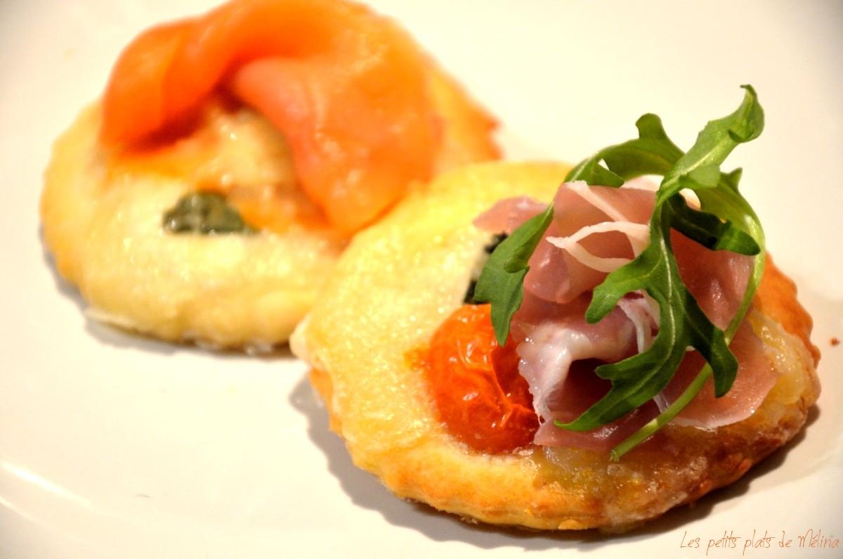 Mini Pizzas - Les Petits Plats de Mélina