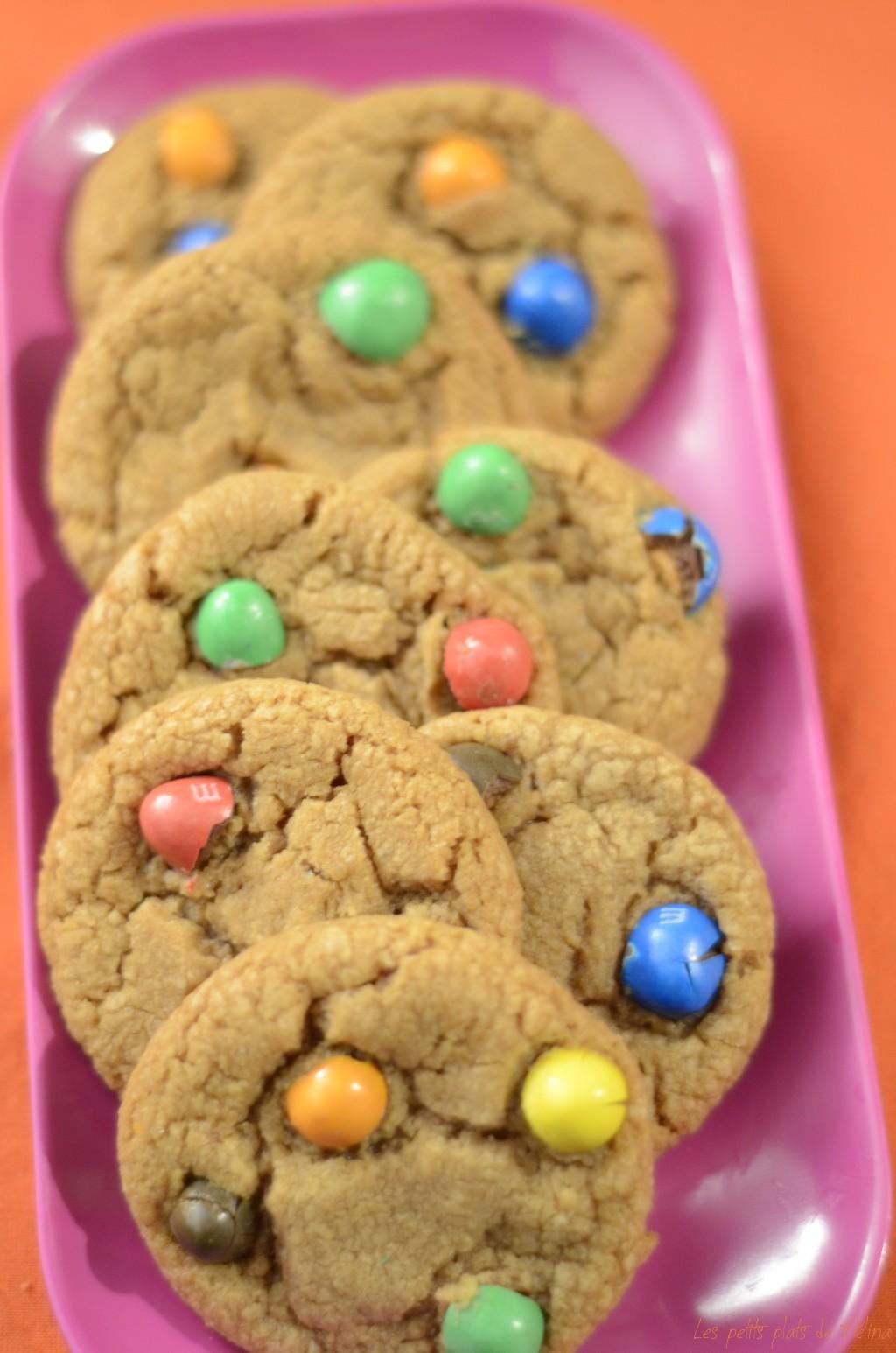 Cookies M&M's - Les Petits Plats de Mélina