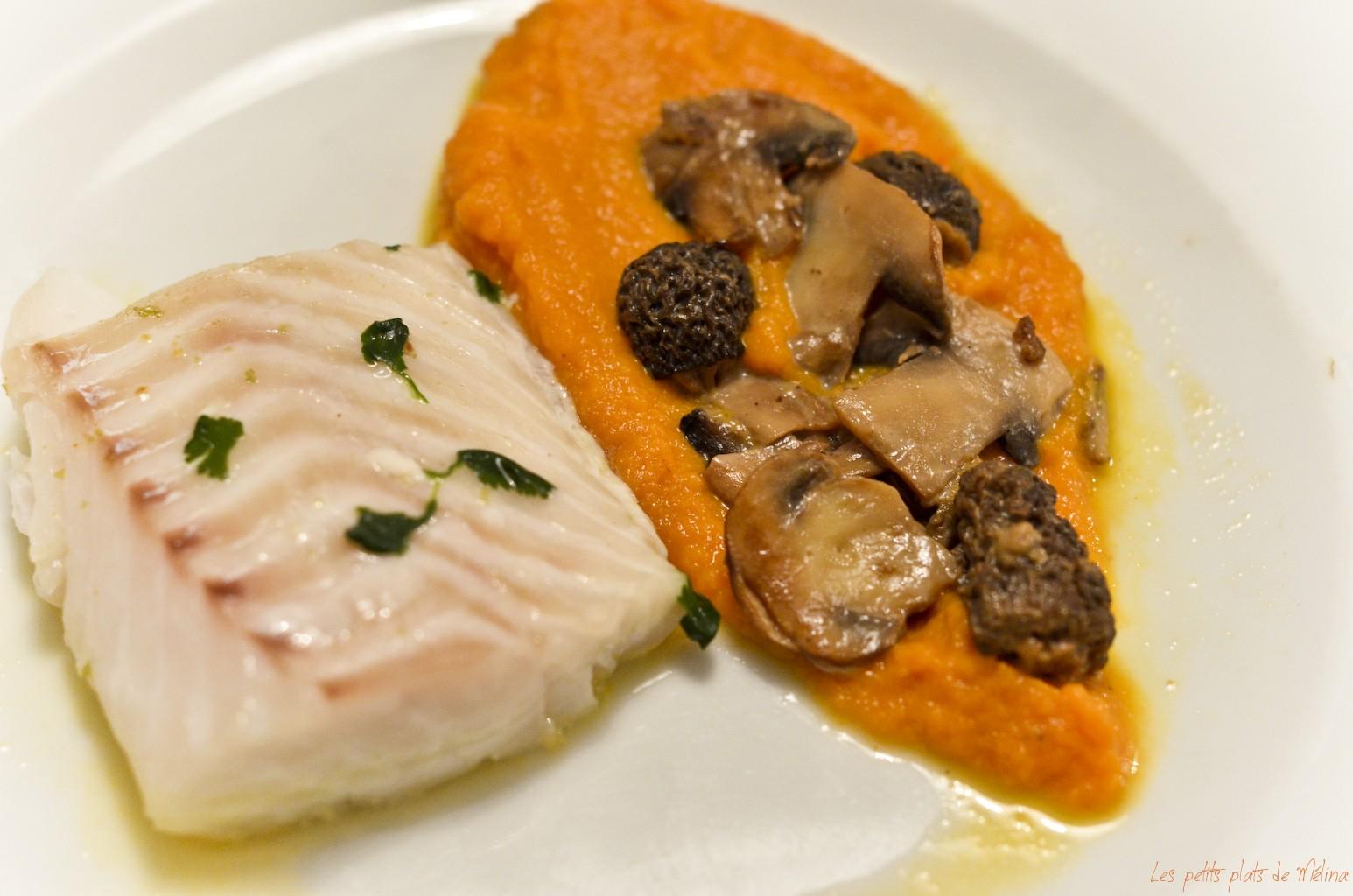 Cabillaud coriandre - purée de carottes - Les Petits Plats de Mélina