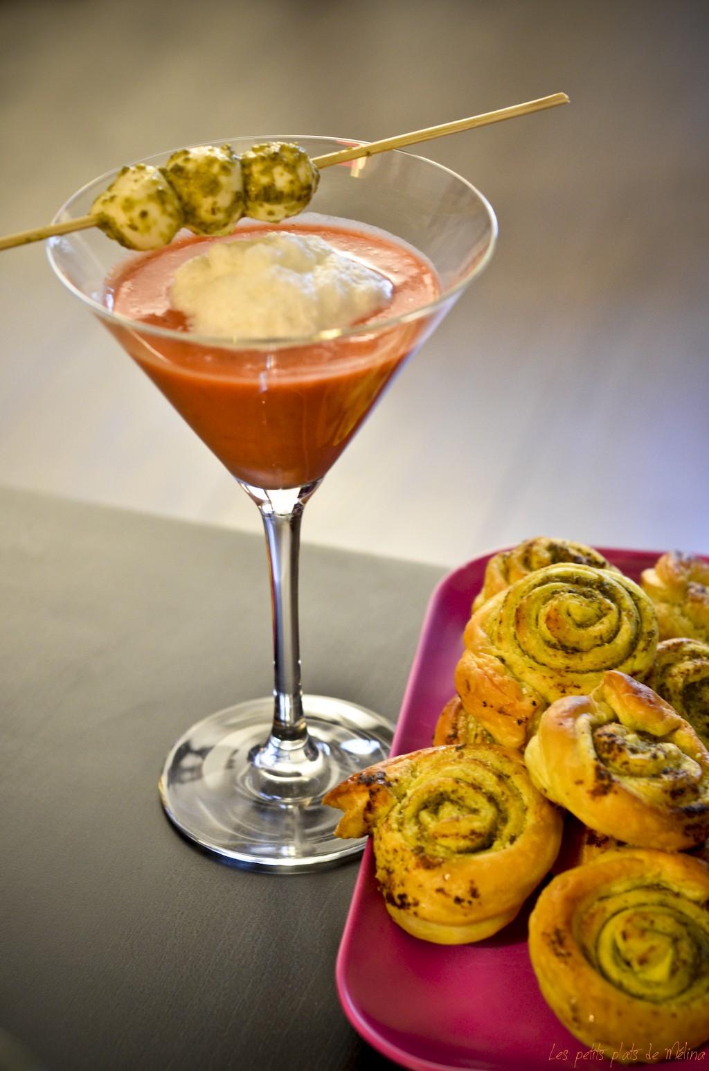 Gaspacho Tomate Fraises - Les Petits Plats de Mélina