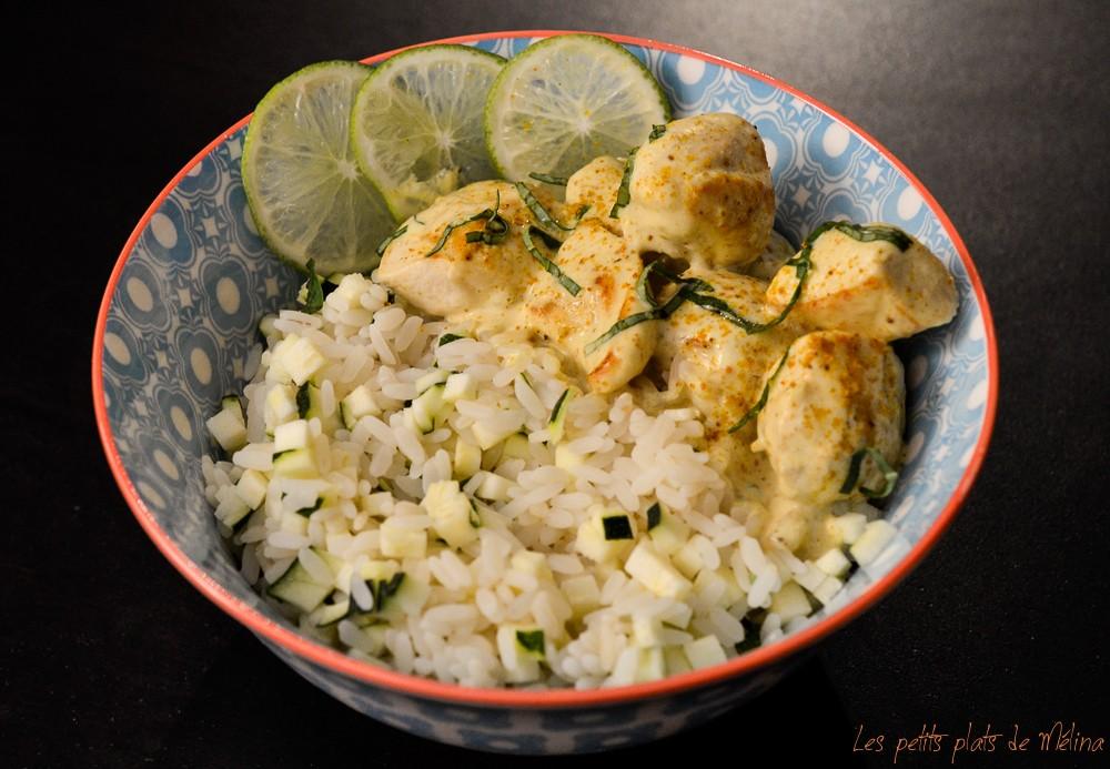 Poulet au curry - Les Petits Plats de Mélina