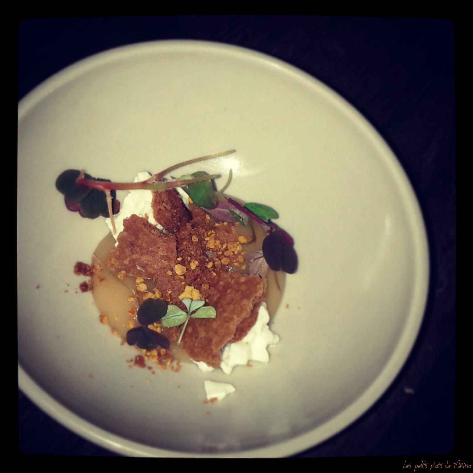 Restaurant Septime dessert Faisselle - Les Petits Plats de Mélina
