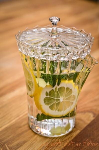 Thé au citron - Detox - Les Petits Plats de Mélina