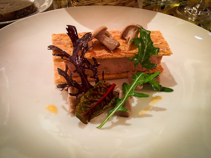 Restaurant Le 68 Guy Martin, le foie gras - Les Petits Plats de Mélina