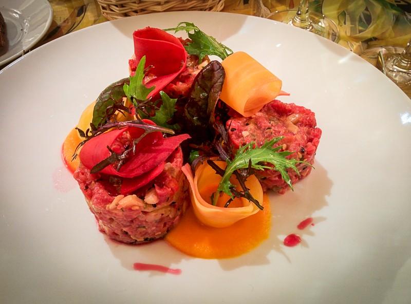 Restaurant Le 68 Guy Martin, le tartare - Les Petits Plats de Mélina