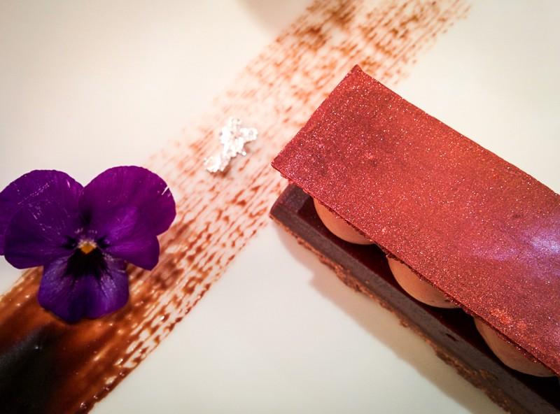 Restaurant Le 68 Guy Martin, dessert chocolat - Les Petits Plats de Mélina