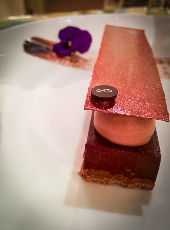 Restaurant Le 68 Guy Martin, dessert palais chocolat - Les Petits Plats de Mélina