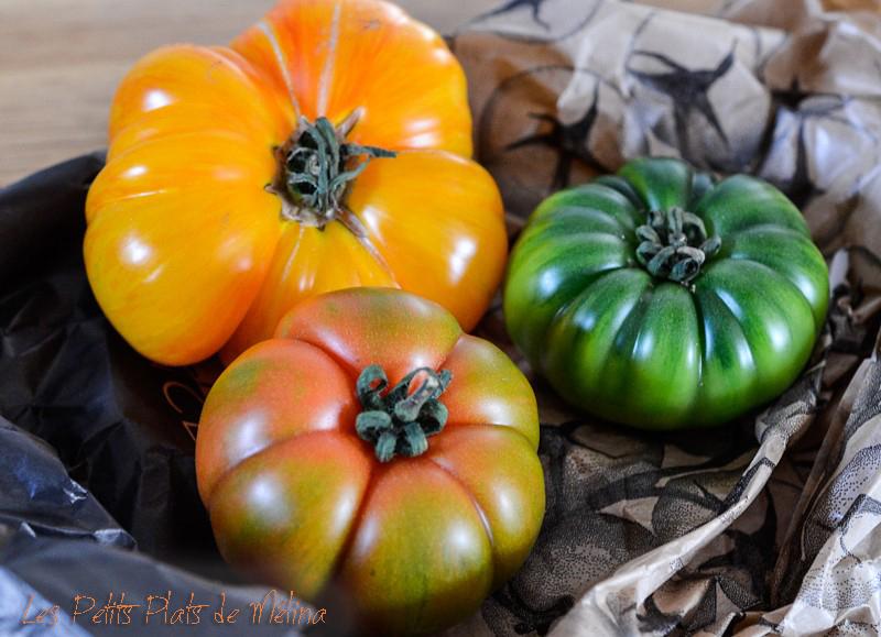 salade Tomates Mozza - Les Petits Plats de Mélina