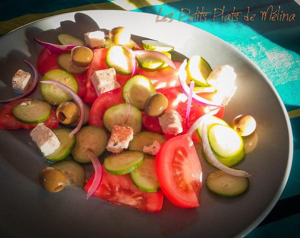 Salade Grecque - Les Petits Plats de Mélina