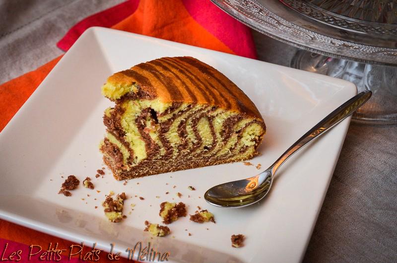 Zebra Cake - Les Petits Plats de Mélina