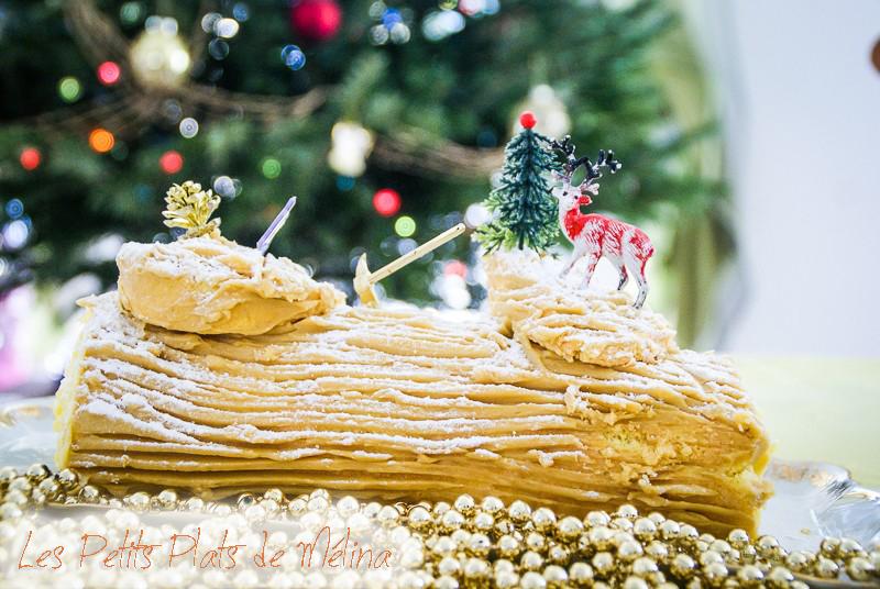 Bûche de Noël - Les Petits Plats de Mélina