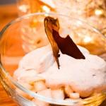 Poires à la vanille et crème de marron - Les Petits Plats de Mélina