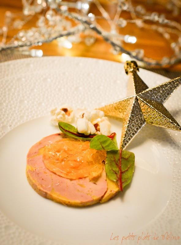 Foie gras gelée de clémentine et vin blanc - Les Petits Plats de Mélina