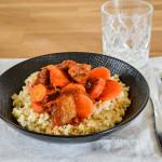 Ragout boeuf boulgour - Les petits plats de mélina