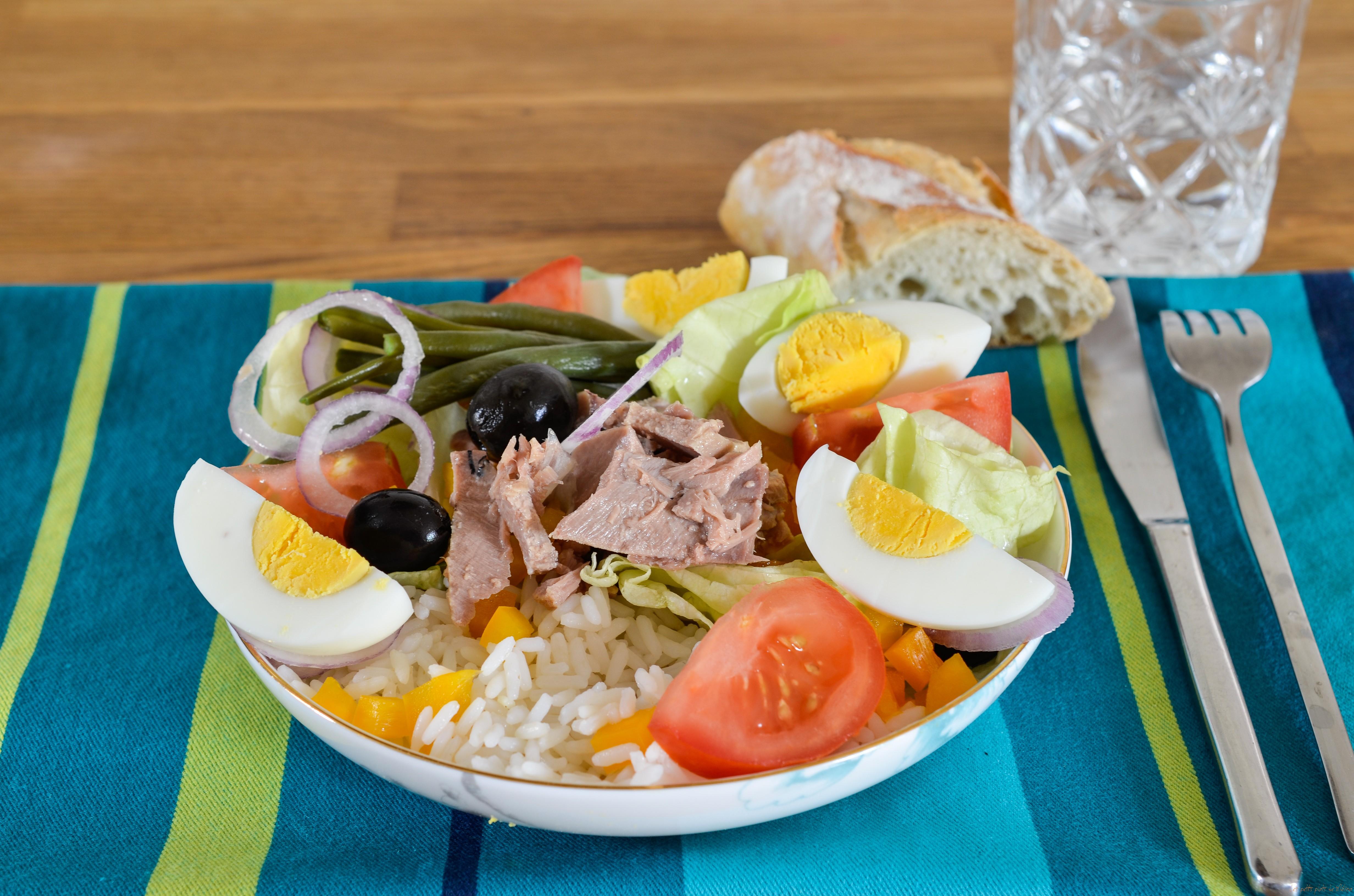 Salade niçoise - Les Petits Plats de Mélina